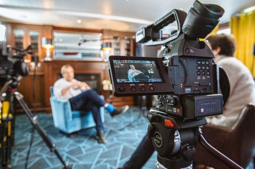 Témoignage et vidéo interview dans un film d'entreprise