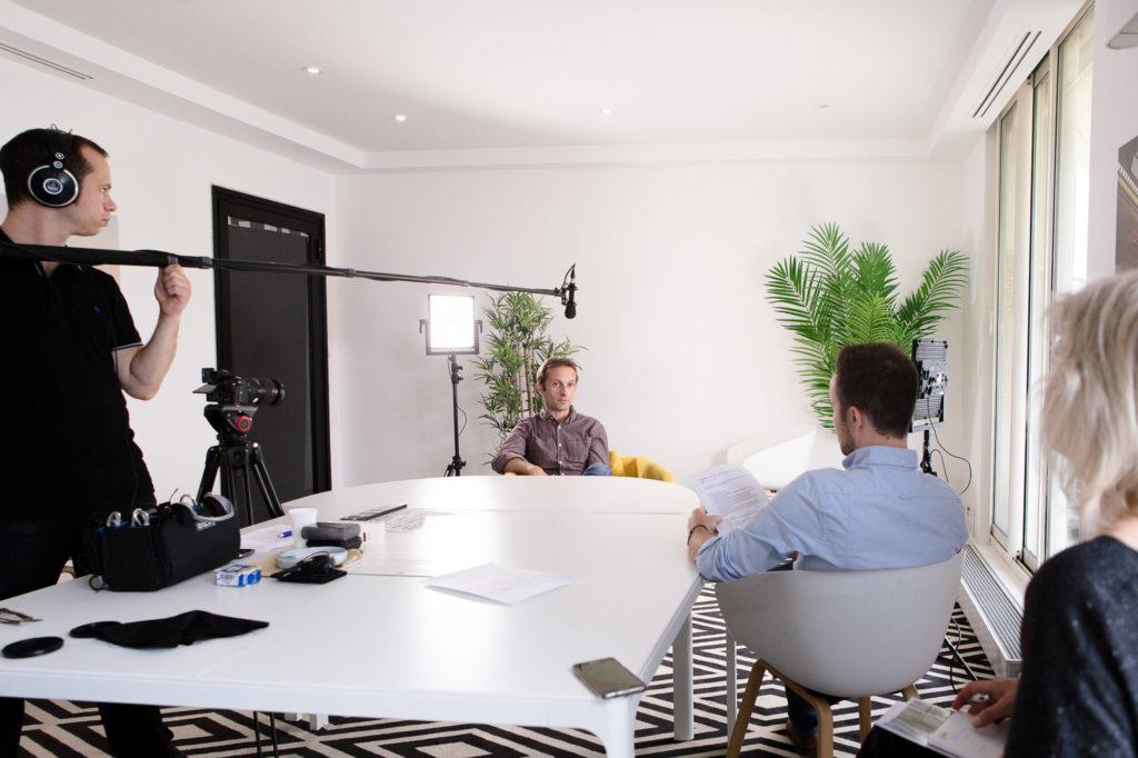 Utilisation de la vidéo interview dans un film d'entreprise