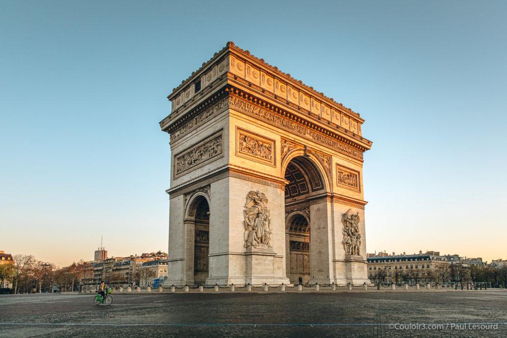 Photo Paris confiné Covid-19