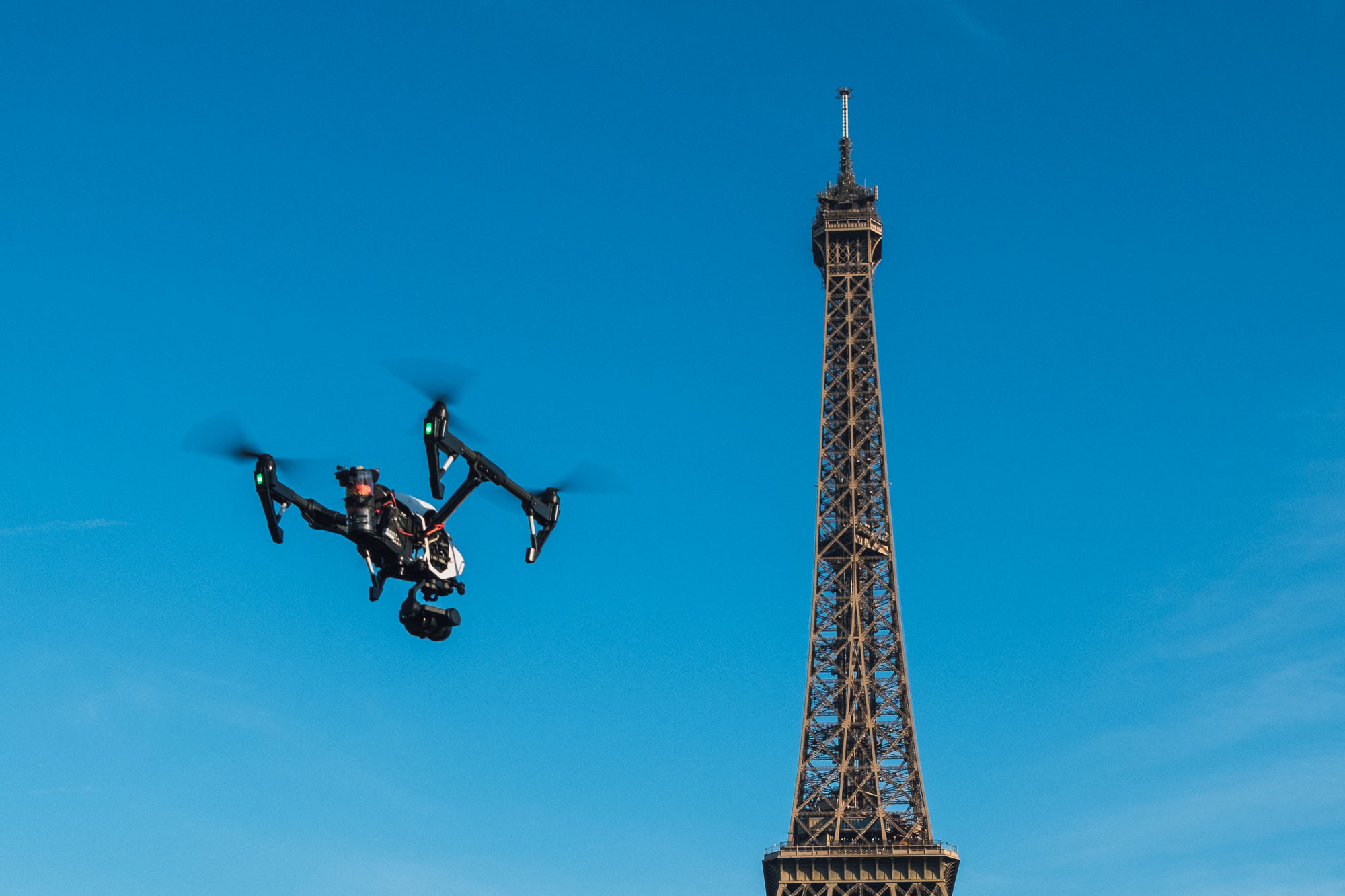 Photo aérienne drone Tour Eiffel