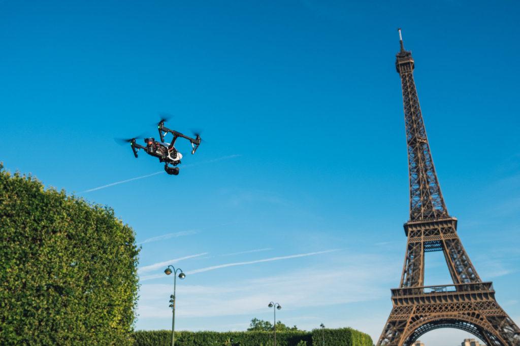 drone prise de vue aérienne professionnel