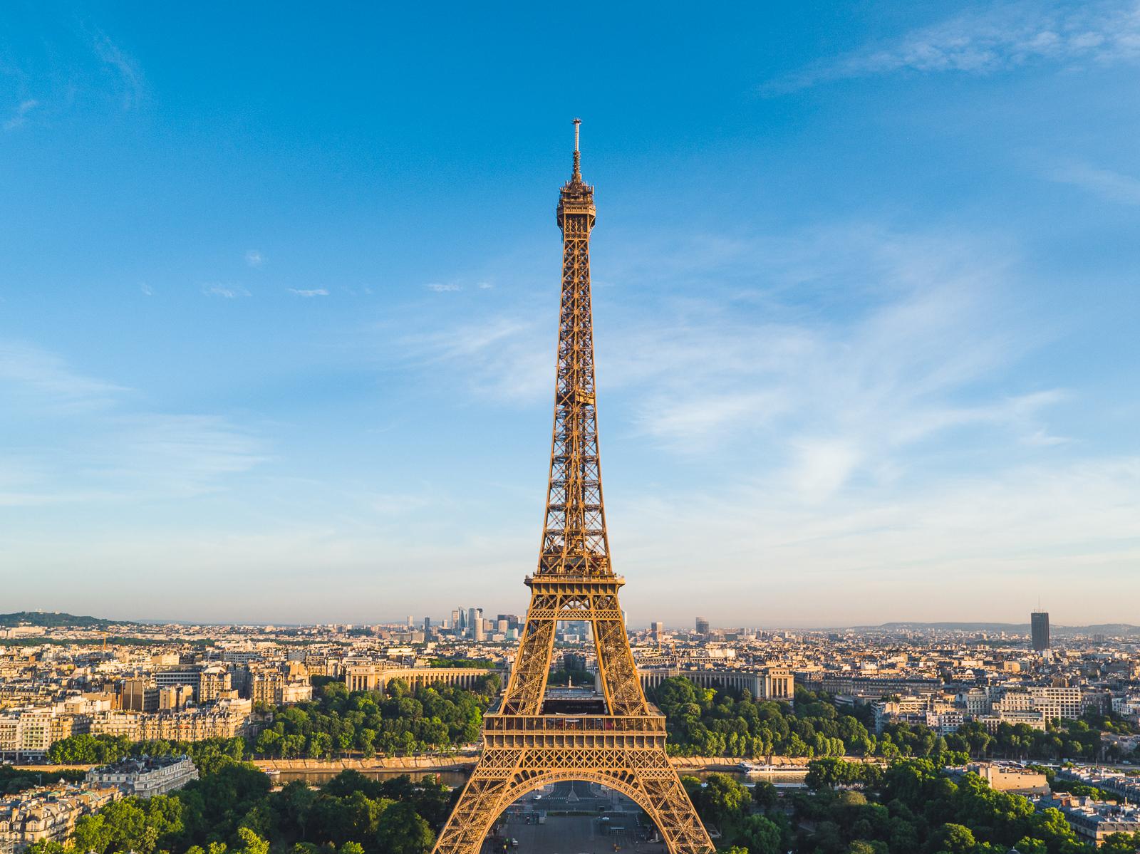 Photographie aérienne par drone paris